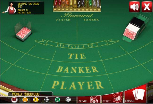judi live casino baccarat online